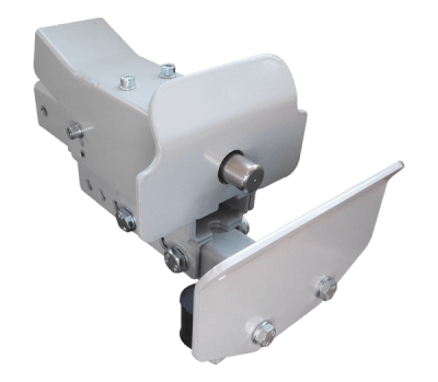Roll box hitch with electromagnetic lock